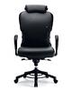 Interstuhl XXXL O652 Drehsessel, Drehstuhl mit Armlehnen, Bürostuhl mit hohen Rücken und Kopfstütze von interstuhl